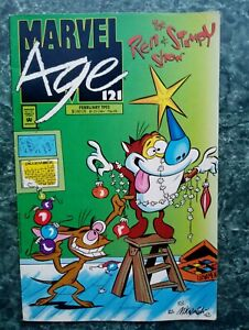 Marvel Age #121 FN (1993 Marvel Comics) Newsstand, Ren & Stimpy Show