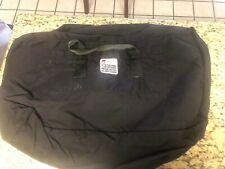 Nice New & Unused Black Parachute Duffel Bag, Strong Enterprises
