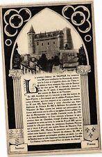 CPA  Le premier cháteau de Saumur fut construit vers 850 pour combattre(207137)