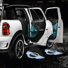 2x Laser Car Door LED Projector Welcome Shadow Lights for Mini Cooper