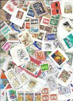 Worldwide Stamp Lot on Paper 1 lb/16+ oz. 20th cent. Many countries. Great mix!