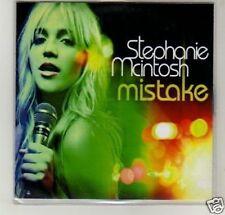 (D338) Stephanie Mcintosh, Mistake - DJ CD