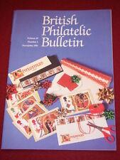 UK PHILATELIC BULLETIN - Nov 1991 Vol 29 # 3