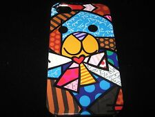 Abstract Bear Cover Case for iPhone 4 4s New Bear w/ bowtie Polka dots Case