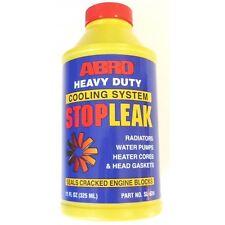 ABRO Heavy Duty Cooling System Stop Leak SEALS BLOCKS! Alternative RAC or K-seal