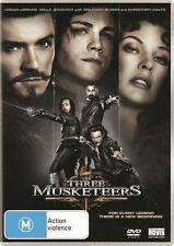 The Three Musketeers (DVD, 2012)