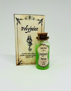 Polyjuice Harry Potter Potion Trinket Magic Potion Bottle Miniature Magic