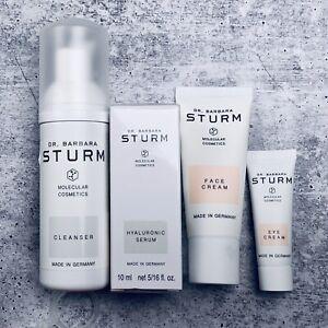 NEW~Dr. Barbara Sturm Hyaluronic Serum/cleanser/face/eye Cream Travel SAME DAY🚢