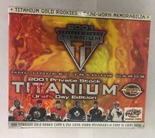 2001-02 Pacific Titanium Hockey Hobby Box Factory Sealed