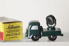 Dickie SHUCO Piccolo 1:90 05161 faros de coche 755 - verde, emb.orig (84177)