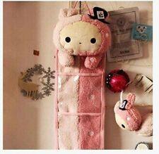 Sentimental Circus Rabbit Rilakkuma San-X Wall Hanging Storage Bag 3 Pockets Hot