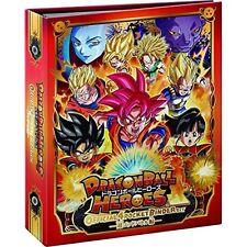Dragon Ball Heroes Official 4 Pocket Binder Set Hero License & Hero Avatar card.