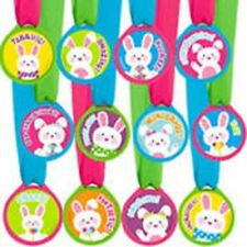 Easter Party Award Medals 12 Pieces