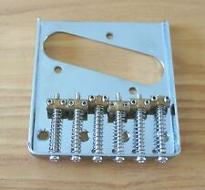 Telecaster Ash Tray style Bridge and brass saddles
