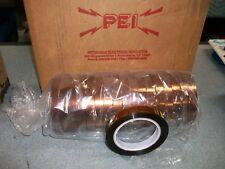 Pei Copper Tape 6X091 Size: .0027 X 5/8 X 72 #41A239176P128 - New - Qty. 18