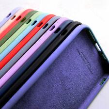 Liquid Silicone Case Cover For Xiaomi Poco M3 X3 NFC Redmi Note 9s 8 Pro Mi 10T