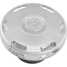 Performance Machine Apex Custom Gas Cap  Chrome 02102024APXCH*