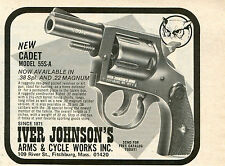 1974 small Print Ad of Iver Johnson Cadet Model 55S-A .38 Special Revolver