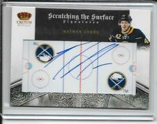 10-11 Crown Royale Nathan Gerbe Scratching The Surface Auto # 73 #d/100