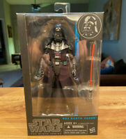 "2014 STAR WARS BLACK SERIES 6"" DARTH VADER #02 ACTION FIGURE TOY US SELLER RARE"