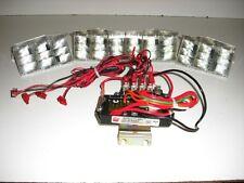 Federal Signal Cuda Tri Optic LED upgrade Strobe bar Vista Arjent flasher