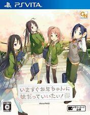 Used PS Vita Imasugu Oniichan ni Imouto Datte Iitai! Japan Import F/S