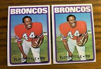 1972 Topps Football  #50 Floyd Little - Broncos (2)