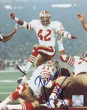 4d4d71e8a65 Ronnie Lott San Francisco 49ers Hand Signed 8x10 Autographed Photo w COA