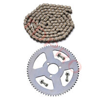 25H Chain 136 Links +68T 29mm Rear Sprocket  for 49cc Electric Scooter ATV Quad