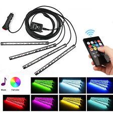 US Car LED Strip Light  Multicolor Music Car Interior Lights Under Dash Lighting