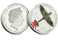 2020 Battle Of Britain 80th Anniversary Spitfire £5 Coin in capsule