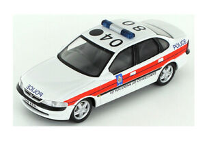1:43 Vauxhall Vectra Saloon Lancashire Police by Schuco in White 04181