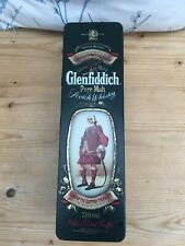 Glenfiddich Scotch Whisky Illustrated Tin, Clan Stewart, Map & HIstory Inserts