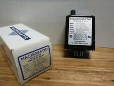 MACROMATIC SS-60526 INTERVAL CYCLE RELAY, PROGRAMMABLE 12V AC/DC