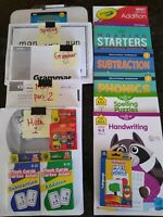 First Grade: Homeschool Curriculum box: Math, ELA, & Reading
