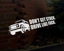 GET STUCK Car Decal Sticker Land Rover Defender Discovery Freelander