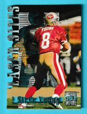 1996 Topps Stadium Club Laser Sites Member's Only Steve Young #LS3 (KCR)