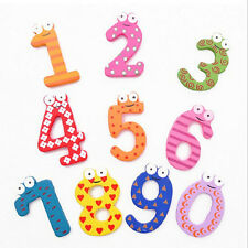 Baby Kids Colorful Teaching Magnetic Numbers Fridge Magnet Child Educational Toy