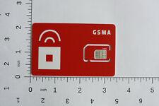 1 Red Pocket Mobile 3-in-1 Sim card Reg, Micro, Nano. Gsma (At&T)