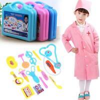 15pcs Children Doctor Nurse Pretend Play Set Portable Suitcase Medical Tool Toy