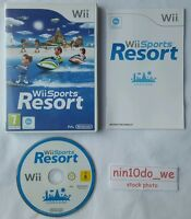 Wii Sports Resort =12 Games =Golf +Bowling +Cycling +Archery +Canoeing (+U) =GC✔