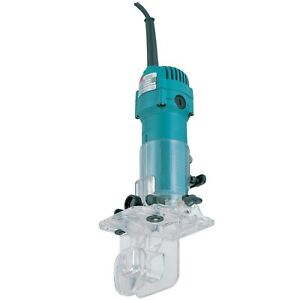 Laminate Trimmer Router CLEARANCE LIMITED STOCK Makita 3708F 110v quarter inch