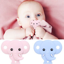 Baby Pacifier Elephant Nozzle Teether Chewable Nursing Teething Dummy Toy