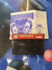 Wolfchild MasterSystem carton.