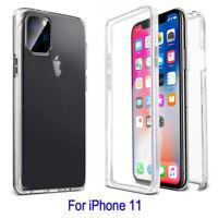 Cover Custodia 360 Gradi Full Body Trasparente Per APPLE iPhone 11 Pro Max Case