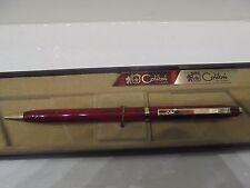 Penna a sfera COLIBRI of London VINTAGE rossa placcata oro-Ballpoint pen-Biro