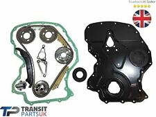 FORD TRANSIT TIMING CHAIN KIT 2.2 RWD 2011- MK8 FRONT COVER / GASKET CRANK SEAL