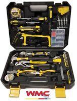 Boite à outils coffret complet d'outils pour travaux de bricolage 100 pièces WMC