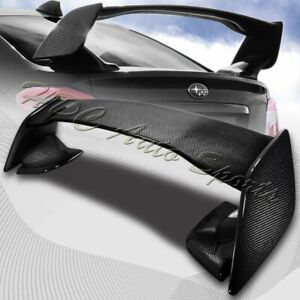 For 2015-2019 Subaru WRX STi Full Real Carbon Fiber Rear Trunk Spoiler Wing