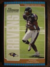 2005 Bowman Bronze Baltimore RAVENS Team Set (7c)